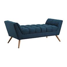 Response Medium Fabric Bench, Azure