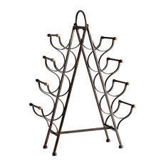 Cyan Riesling Tower Wine Rack 09842 - Bronze