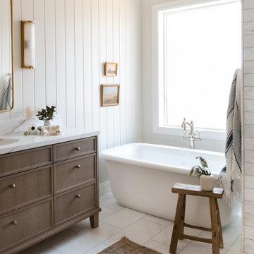 Light and Airy Bathroom Design