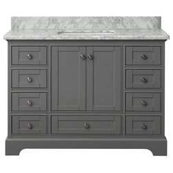 Great Transitional Bathroom Vanities And Sink Consoles by Ancerre Designs