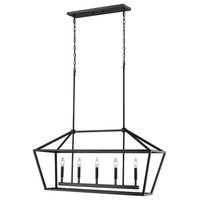 Millennium Lighting Corona Pendant, Matte Black