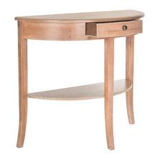 Safavieh Alex Console Table Red Maple