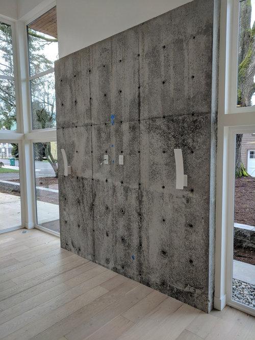 Concrete Wall Finish