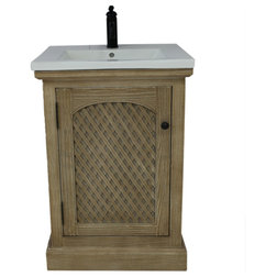 Traditional Bathroom Vanities And Sink Consoles by inFurniture Inc.,