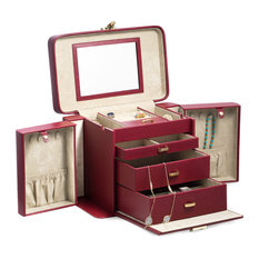 Jewelry Case, Red