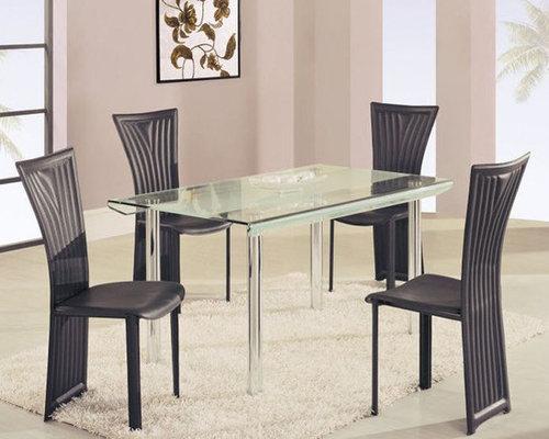 high class rectangular glass top dining furniture set dining tables - Glass Top Dining Room Tables