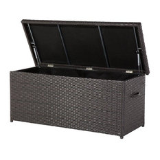 Modena Poly Rattan Garden Storage Box, Small