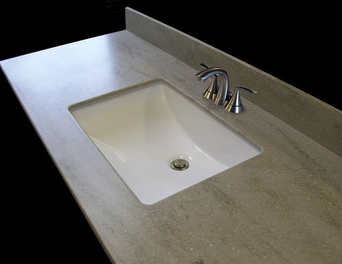 Is There A Corian Square Or Rectangular Sink