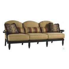 Boxed-edge Back Cushion Sofa