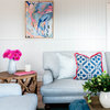 Room of the Week: A Hamptons-Style Living Area Alive With Colour
