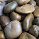 "Mixed Grade A Polished Pebbles, Mixed, 1"" to 2"", 30 Lb."