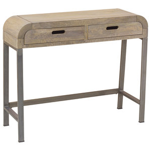 Henine Grey Console Table