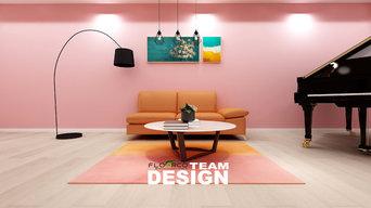 Floorco flooring Design for Wall