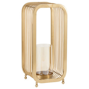 Emily Maxwell Luxury Glass Cylinder Candle Holder