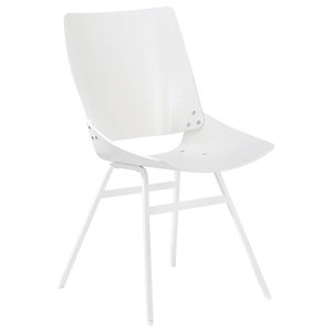 Shell Dining Chair, White