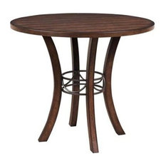 Hillsdale Furniture   Cameron Wood Counter Height Table   Dining Tables