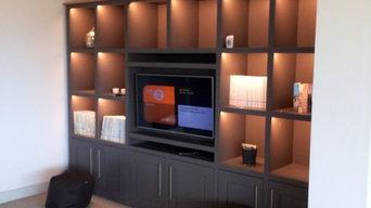 bookcase tv