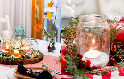 One Table, Two Holiday Settings