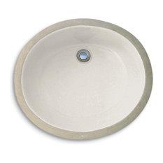 Cole + Co. Hampton Porcelain Undermount Sink, Biscuit