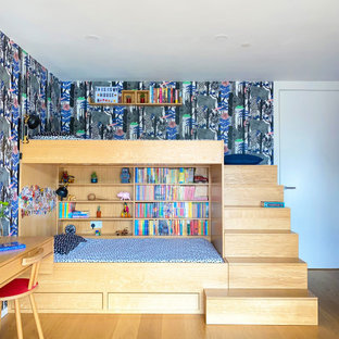 Contemporary kids' bedroom in London.