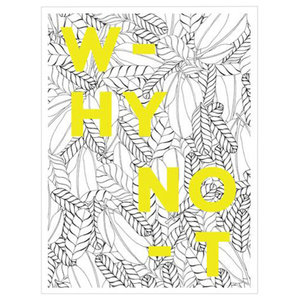 """Why Not"", Print by Josephine Kibuka, 40x50 cm"