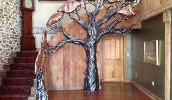 Sculptural Tree Railing