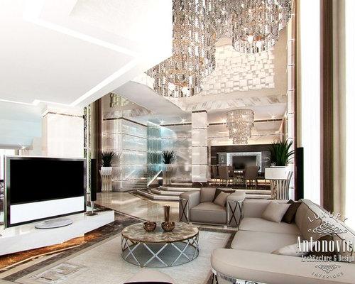 Villa Design In Palm Jumeirah Dubai From Luxury Antonovich Design