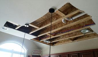 Water damage repair and painting
