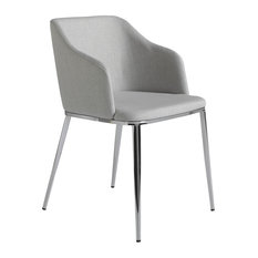Grace Upholstered Dining Chair, Grey