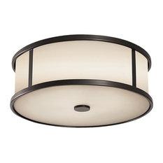 3-Light Ceiling Fixture, Espresso