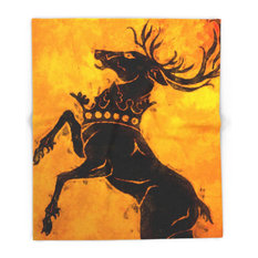 """Stag Blanket, 68""""x80"""""""