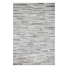 Bashian Tucker Area Rug, Gray, 2.6'x8'