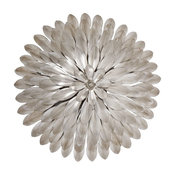 Broche 4 Light Sconce in Antique Silver