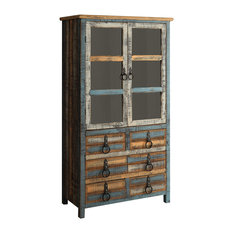 Powell Furniture Calypso High Cabinet China Cabinets And Hutches