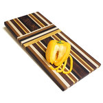 Oshkosh Designs - Upgraded Solid Hardwood Kitchen Cutting Board - HANDMADE IN THE USA