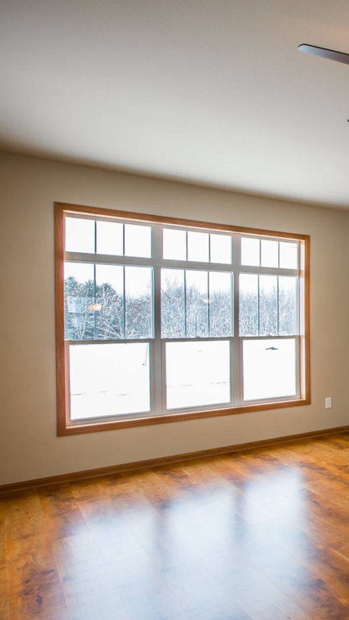 Help Needed Window Treatment For 3 Pane Windows With Transom