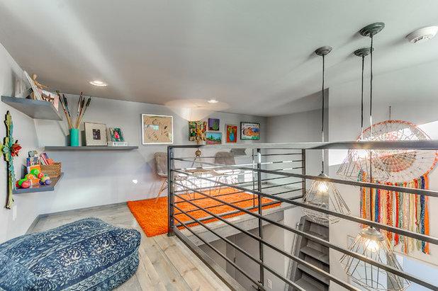 Chambre d 39 enfant de la semaine un dortoir spacieux pour for Chambre dortoir design
