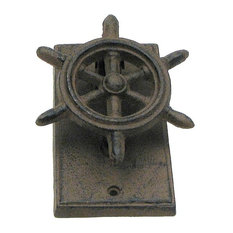 Imzi Home   Ships Wheel Door Knocker   Door Knockers