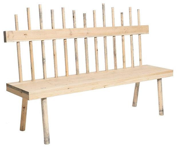 11 Ideen für Gartenbänke aus Holz