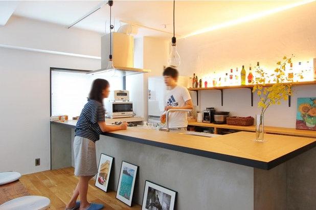 インダストリアル キッチン by nuリノベーション