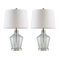 Harmony Table Lamps, Set of 2, Gray