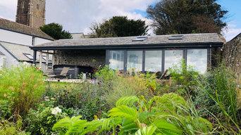 Garden design in North Devon