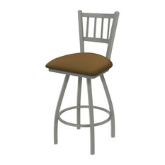 810 Contessa 36-inch Swivel Bar Stool With Canter Saddle Seat