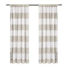 Amalgamated Textiles, USA   Darma Rod Pocket Window Curtain Panels   50 Part 72