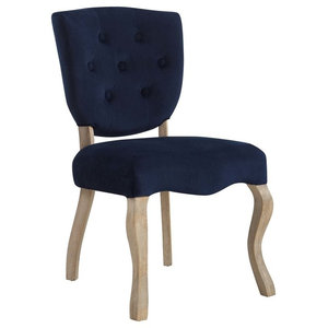 Modway Array Polyester Dining Chair, Mid Finish