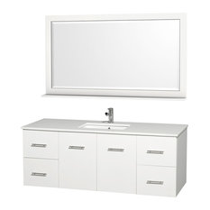 60 in. Bathroom Vanity Set with 2 Drawers