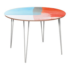 Stella Hairpin Dining Table - Retro Shades