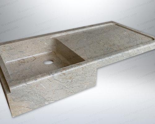 Lavelli e lavandini per la cucina in pietra e marmo