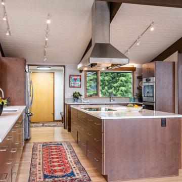 Mid-Century Modern Deck House