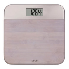 Taylor Precision Dig Bamboo Bath Scale 86634242NB